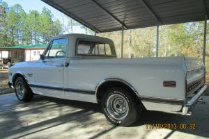 1969 Chevrolet C-10 Custom Sport Truck Numbers Matching
