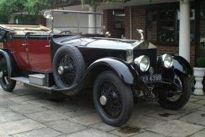 1923 ROLLS ROYCE 40/50 Silver Ghost Hooper Cabriolet Photo