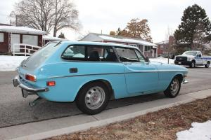 1972 Volvo 1800 ES -- Good Driver!! Polestar Blue. Low Mileage
