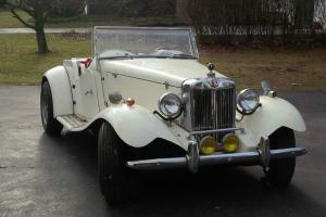 MGTD 1952 Kit car on Ford Chasis 4 cyl 2.0 Front engine