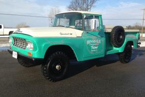 PATINA RESTORED 1962 INTERNATIONAL HARVESTER C-120 4X4