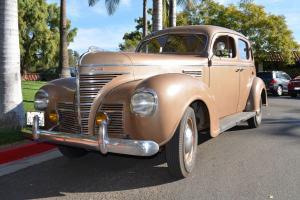 1939 Plymouth Sedan CA Family Owned 4 Generations Purchased New 55k Original Mi