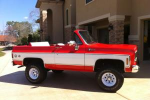 1975 Chevy K5 4x4 Blazer