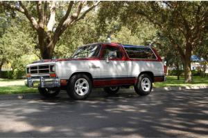 1989 Dodge Ram Charger 28K Miles Rust Free Ramcharger Low Mileage Survivor 318