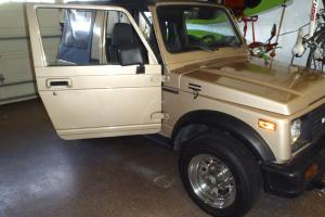 88 Suziki Samurai JX 4 cyl. New Canvas Top Excellend condition!