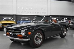 RUST FREE ACCIDENT FREE GREEN TR6 with OVERDRIVE
