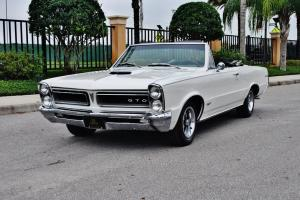 65 Pontiac GTO Convertible tribute 455 v-8 bucket's console automatic factory ac