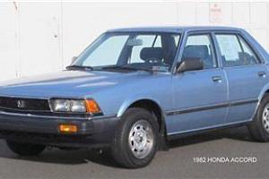 82 Low Miles 4 dr Sedan Gasoline 1.8L L4 3BL Blue One Owner Clean Carfax