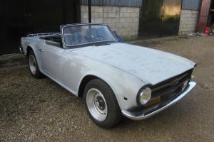 1972 Triumph TR6 LHD For restoration. Car Runs Drives L@@K