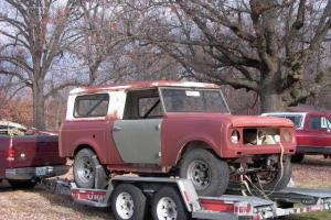 1965 IH scout 80 project