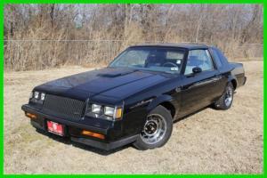 1987 Grand National Turbo Used Turbo 3.8L V6 12V RWD Coupe
