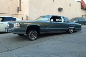1981 Cadillac fleetwood brougham 2 door lowrider big body  90'd out 90 91 92