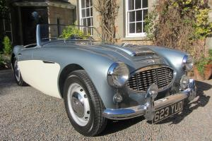 1958 AUSTIN HEALEY 100/6 BNG ROADSTER
