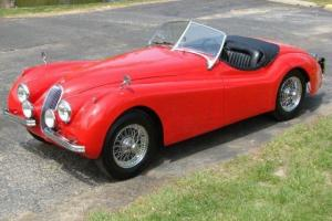 Jaguar xk 120 approx 1950 restoration project