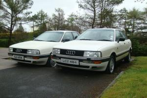 1990 AUDI 90E 66000 GENUINE MILES EXCELLENT CONDITION COLLECTORS CAR
