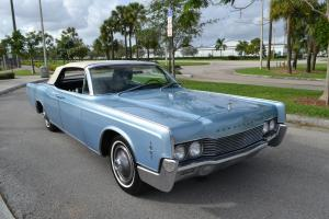 1966 Lincoln Continental Convertible  -  Collector Quality  -