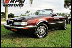 1989 CHRYSLER CONVERTIBLE MADE BY MASERATI TURBO CLEAN CARFAX NO RESERVE
