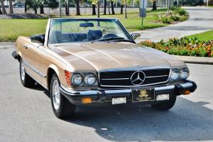 magnificent 1981 Mercedes 380 SL Convertible just 75,054 miles really NO RESERVE