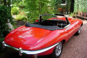 Jaguar E-Type Roadster the perfect 4.2 1969