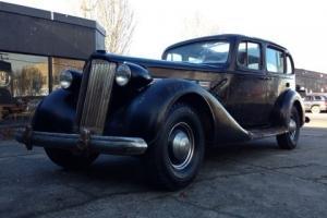 1937 PACKARD SUPER 8,ORIGINAL,RUNNING,DRIVING,PATINA,HOT ROD,RAT ROD,STREET ROD