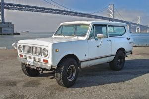 1973 International Harvester Scout II 2-Door V8 345 ALL-WHEEL DRIVE