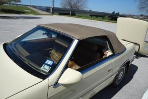 1989 Turbo 2.2L I4 16V Manual FWD Convertible