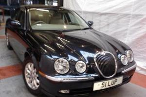 JAGUAR S-TYPE 2.5 V6 SE AUTO 2 OWNERS, FSH. SUPERB.