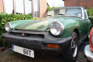 MG Midget Only 11,700 miles from new