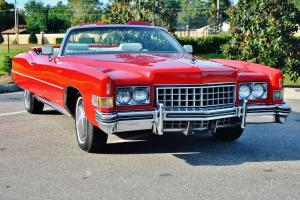 1973 Cadillac Eldorado Convertible in stunning condition with just 47143 miles