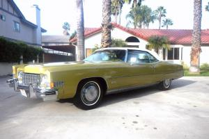 1973 Cadillac Eldordo Convertible w 61000 miles very nice in every way