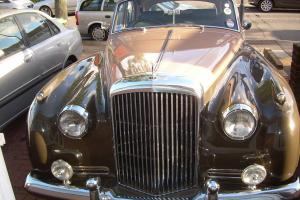 1956 BENTLEY S1 TWO TONE TAX MOT LONDON GOOD RUNNING ORDER ALL MATCHING NUMBERS Photo