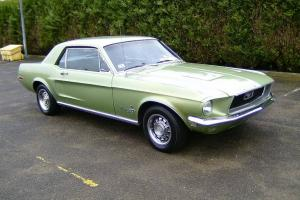 Well optioned 1968 Ford Mustang V8