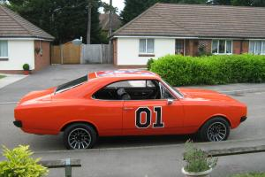 RARE 1968 OPEL COMMODORE COUPE GENERAL LEE DUKES OF HAZZARD NOT DODGE CHARGER