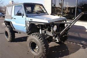 1986 Suzuki Samurai 4x4 Custom Rock Crawler Propane Injected Tires Off Road!