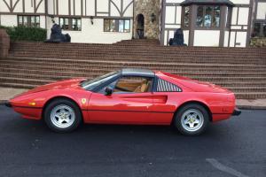 1981 Ferrari 308 GTS i Red/Tan, Shields, 43,798 miles