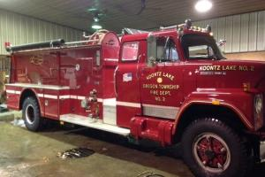 1978, International truck, fire truck, tanker, farm, flatbed, work, pumper, nice
