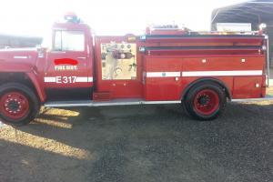 1976 Int 1800 GAS Fire Truck Photo