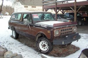 1980 International Harvester Scout Traveler,  4WD, 9000 Winch