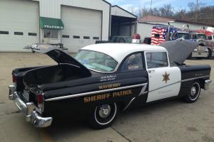 1956 Mercury Madalist Cop Car