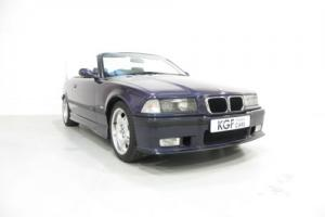A Thrilling BMW M3 Evolution Convertible with Just 32,594 Miles.