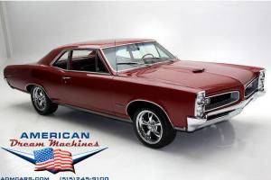 Real Deal! Montero Red 1966 Pontiac GTO With 389 Power,Automatic Transmission,Bu