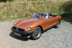 MGB LE Roadster limited edition MG