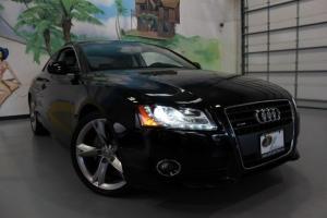 2011 Audi A-5 Coupe,Black,Quattro,Navigation,Rear Camera,Keyless Go,Loaded ! Photo
