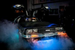 1981 Back to the Future replica DeLorean Photo