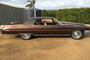 1973 Cadillac Sedan Deville Pillarless Fantastic Condition NO Reserve in Somerville, VIC