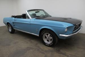 1967 Ford Mustang Convertible V8 Auto
