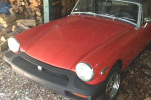 1976 MG Midget MK IV Convertible 2-Door 1.5L NO RESERVE