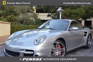 2007 Porsche 997 Turbo Tiptronic GT Siler Metallic PENSKE WYNN FERRARI MASERATI