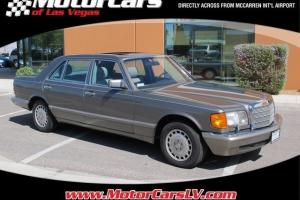1987 Mercedes-Benz 420-Class 420SEL Automatic 4-Door Sedan