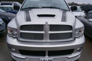 2005 DODGE RAM SRT10 SILVER CREW CAB,